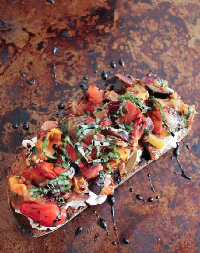 Ratatouille-Tartines-with-burrata-and-honey-balsamic-drizzle-5