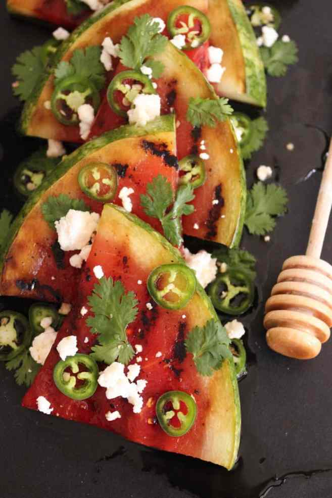 Grilled-Watermelon-with-Jalapeños-Feta-and-Honey-4