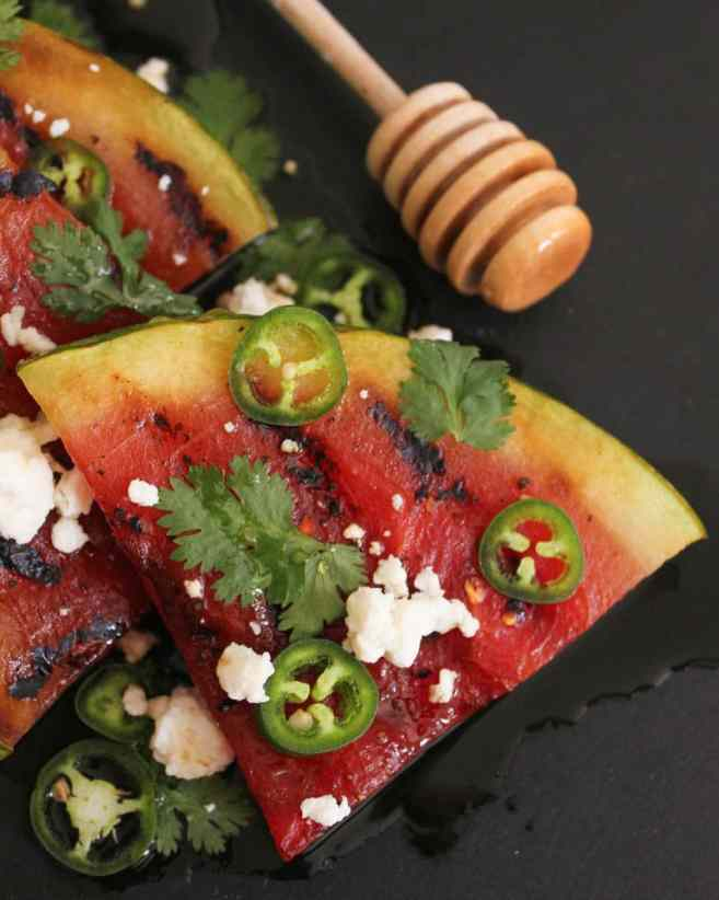 Grilled-Watermelon-with-Jalapeños-Feta-and-Honey-5