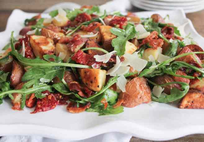 warm-roasted-potato-salad-with-pancetta-sun-dried-tomatoes-and-arugula-8