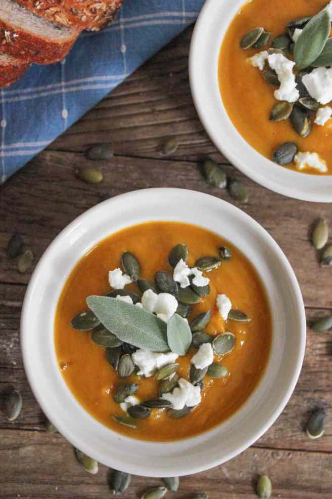 Butternut-Squash-Soup-with-Roasted-Garlic-Goat-Cheese-and-Pepitas-10