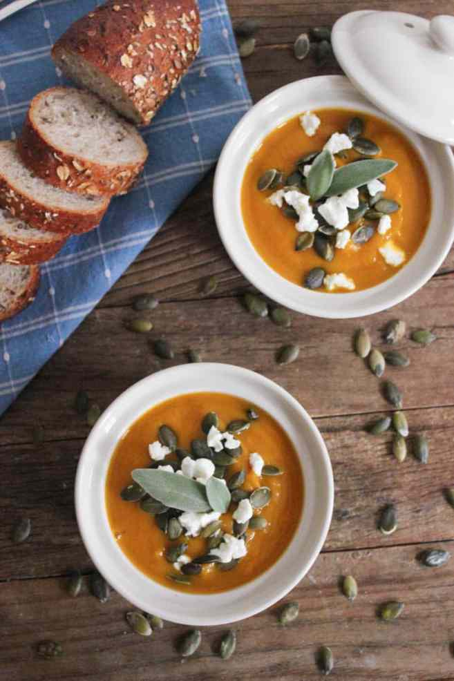 Butternut-Squash-Soup-with-Roasted-Garlic-Goat-Cheese-and-Pepitas-5