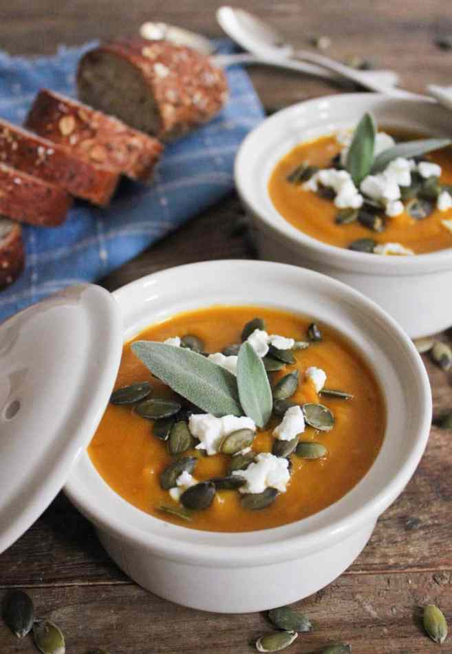 Butternut-Squash-Soup-with-Roasted-Garlic-Goat-Cheese-and-Pepitas-6