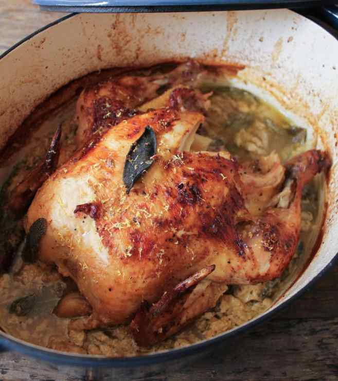 Jamie-Oliver's-Braised-Chicken-In-Milk