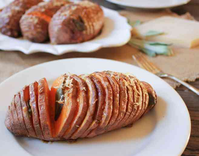 Hasselback-Sweet-Potatoes-with-Sage-and-Parmesan-4