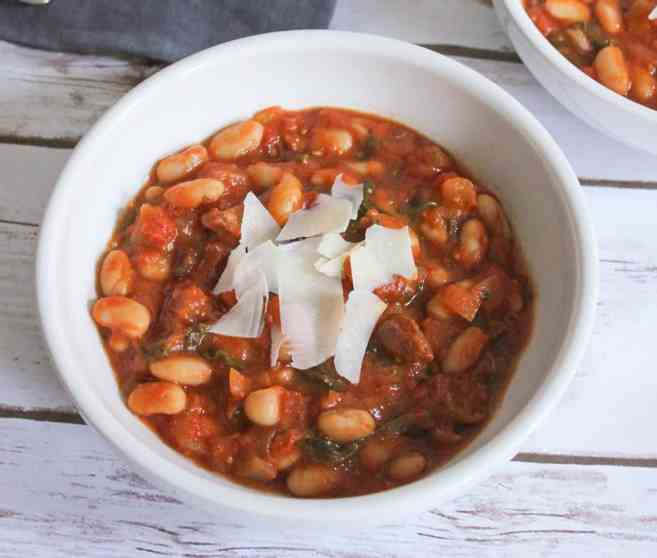 tomato-and-white-bean-stew-with-chicken-sausage-6