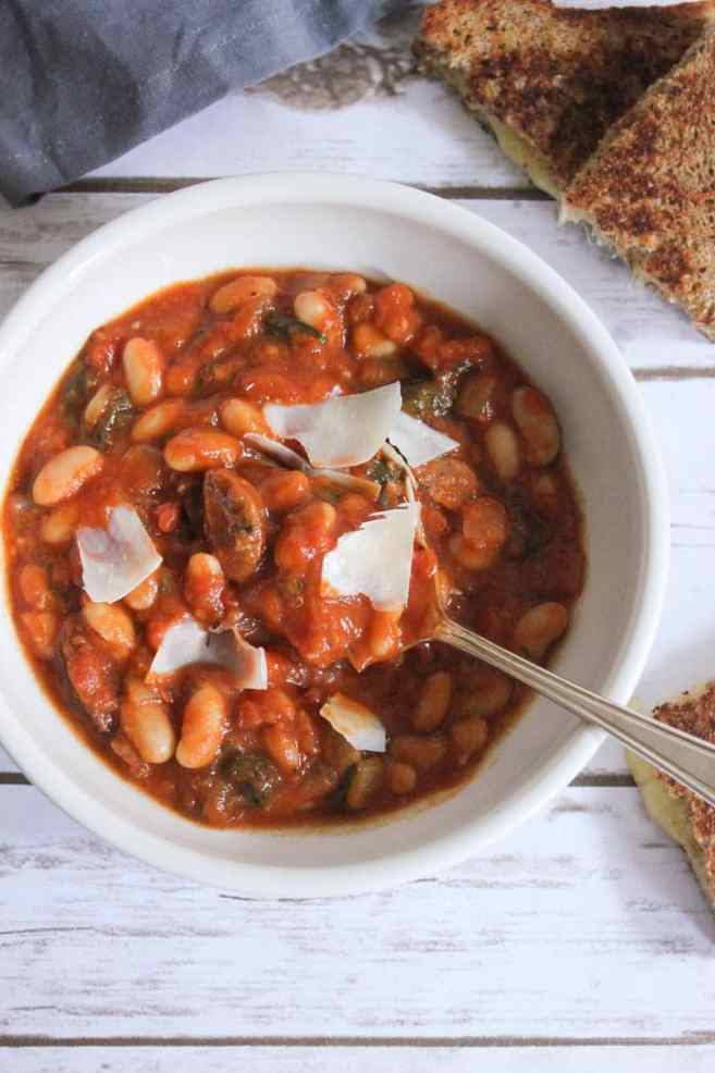 tomato-and-white-bean-stew-with-chicken-sausage-7