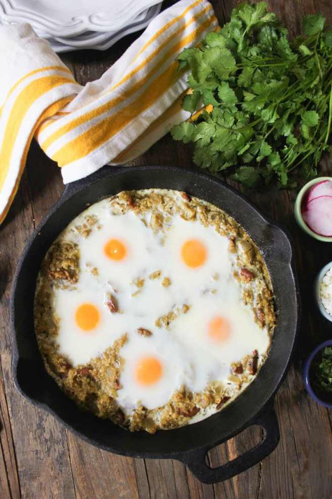 baked-eggs-with-quinoa-chicken-sausage-and-salsa-verde-step-4