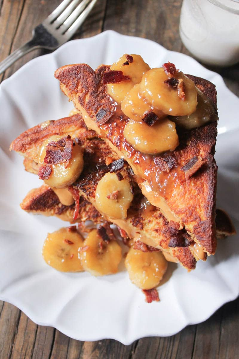 Elvis french toast ive been itching to test and share this recipe for months but i saved it for this week because i thought it would be nice to make french toast and ccuart Images