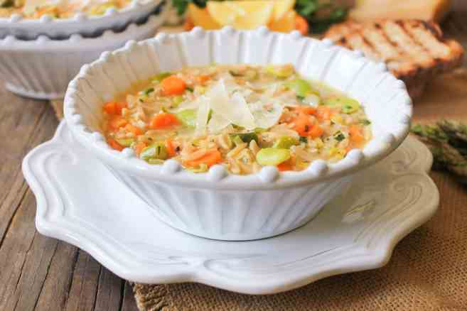 Lemon-orzo-soup-with-spring-vegetables-and-parmesan-7