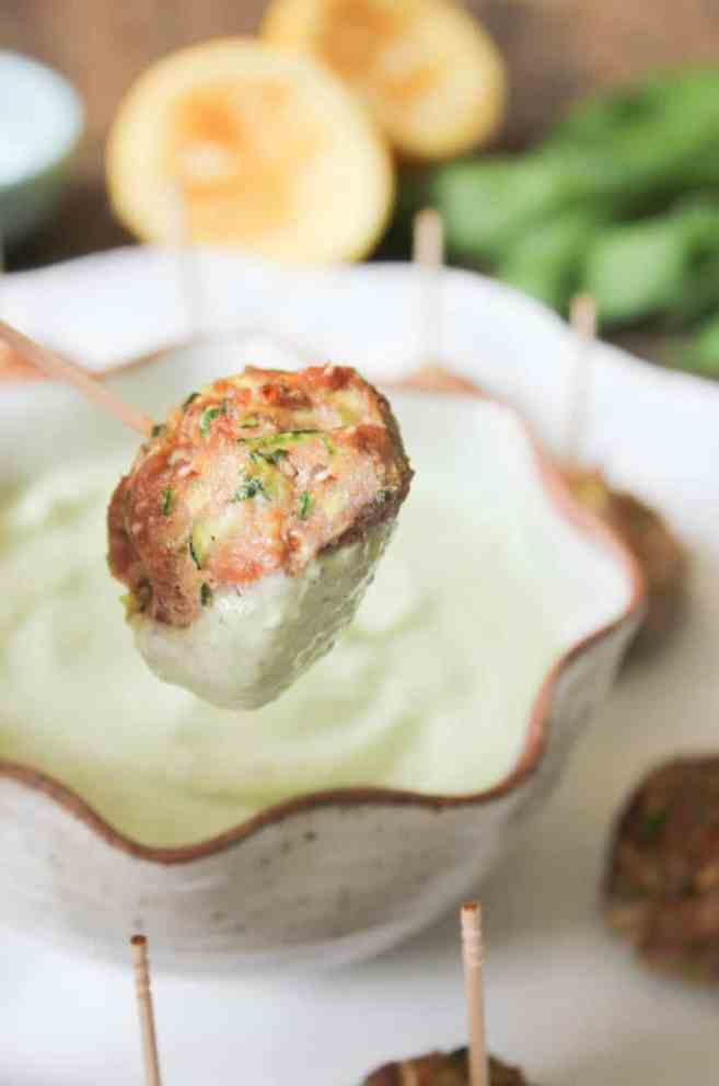 gluten-free-turkey-and-zucchini-meatballs-with-basil-yogurt-sauce-9