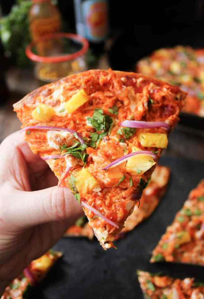 chipotle-chicken-tortilla-pizzas-with-pineapple-and-cilantro-7