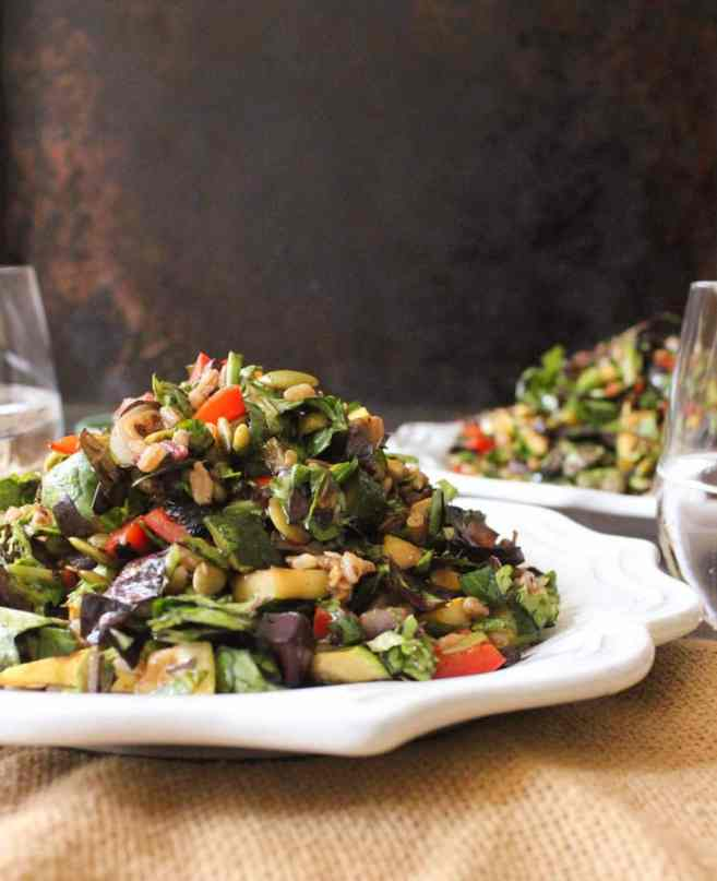 grilled-vegetable-salad-with-farro