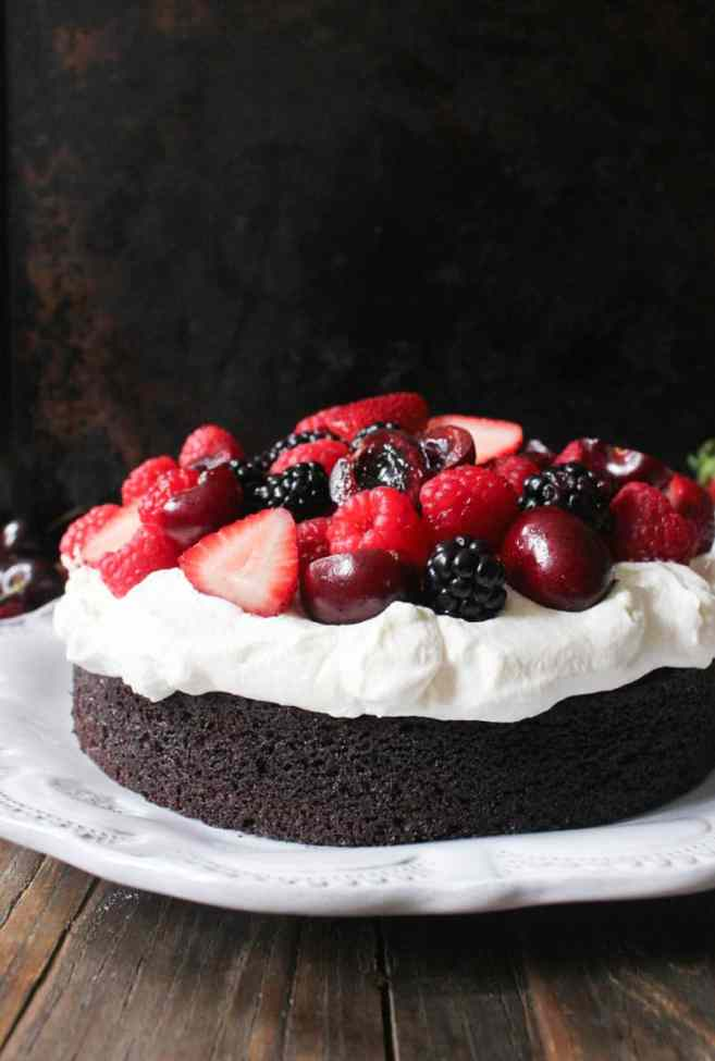 Foolproof-Chocolate-Cake-With-Whipped-Cream-and-Berries-4