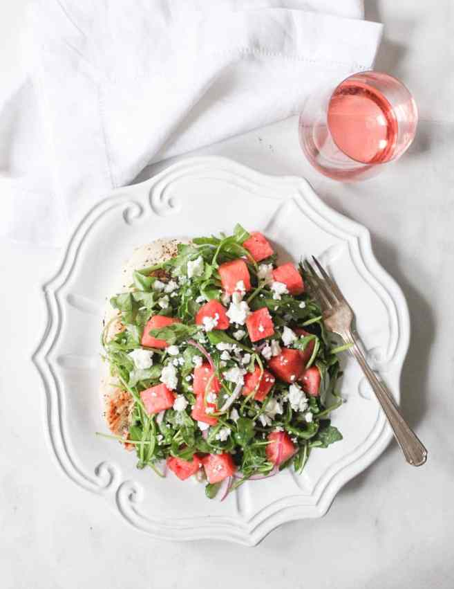 chicken-paillard-with-arugula-and-watermelon-salad-4