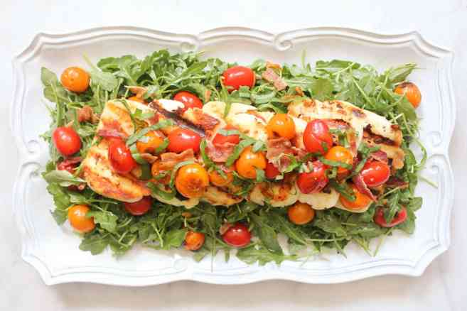 BLT-Salad-with-Grilled-Halloumi-7