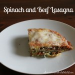 Spinach and Beef Lasagna