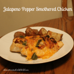 Jalapeno Popper Smothered Chicken