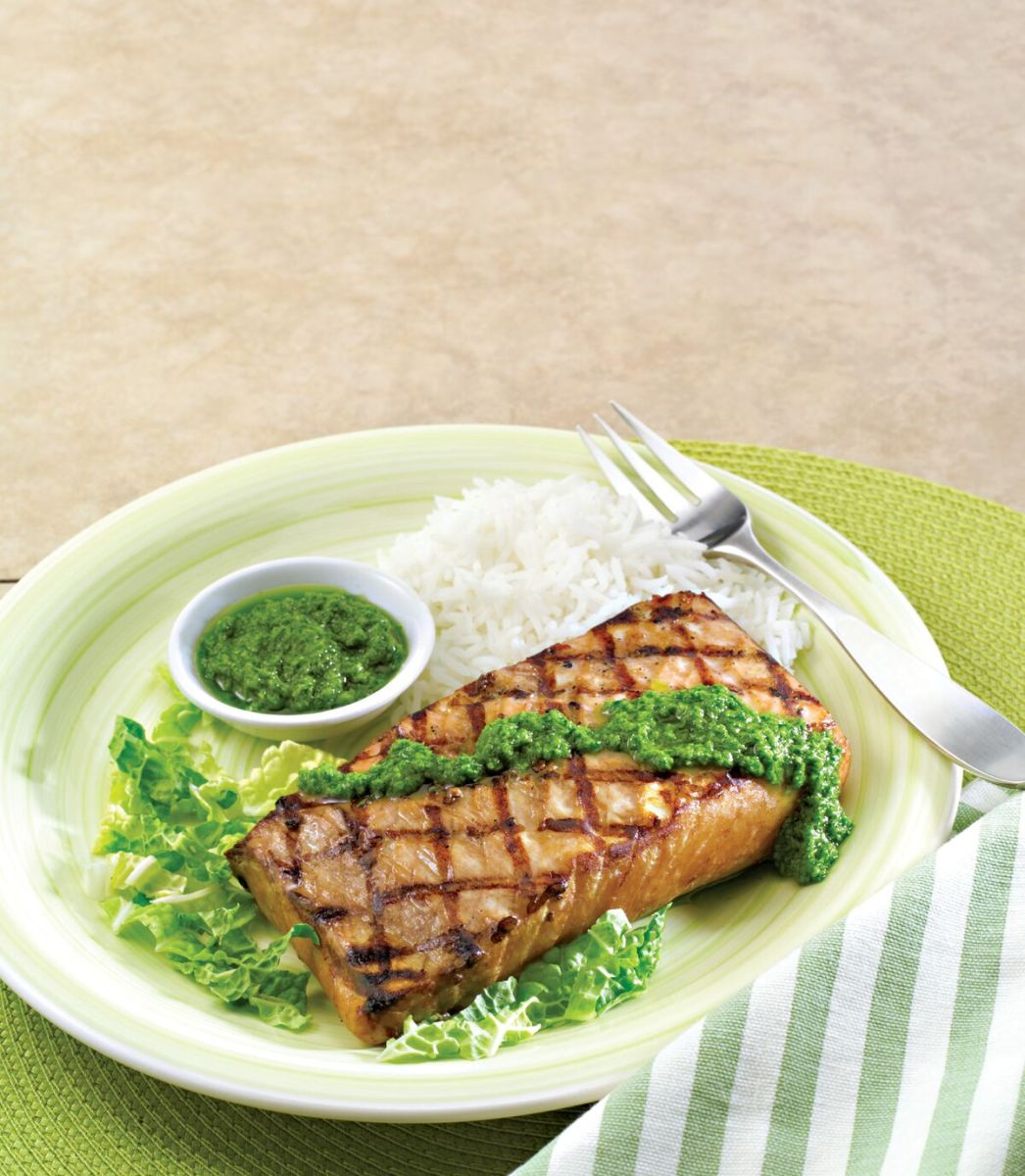 Hawaiian Style Marlin with Poke Sauce