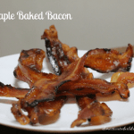Maple Baked Bacon