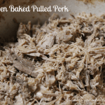 Oven Baked Pulled Pork