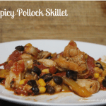 Spicy Pollack Skillet