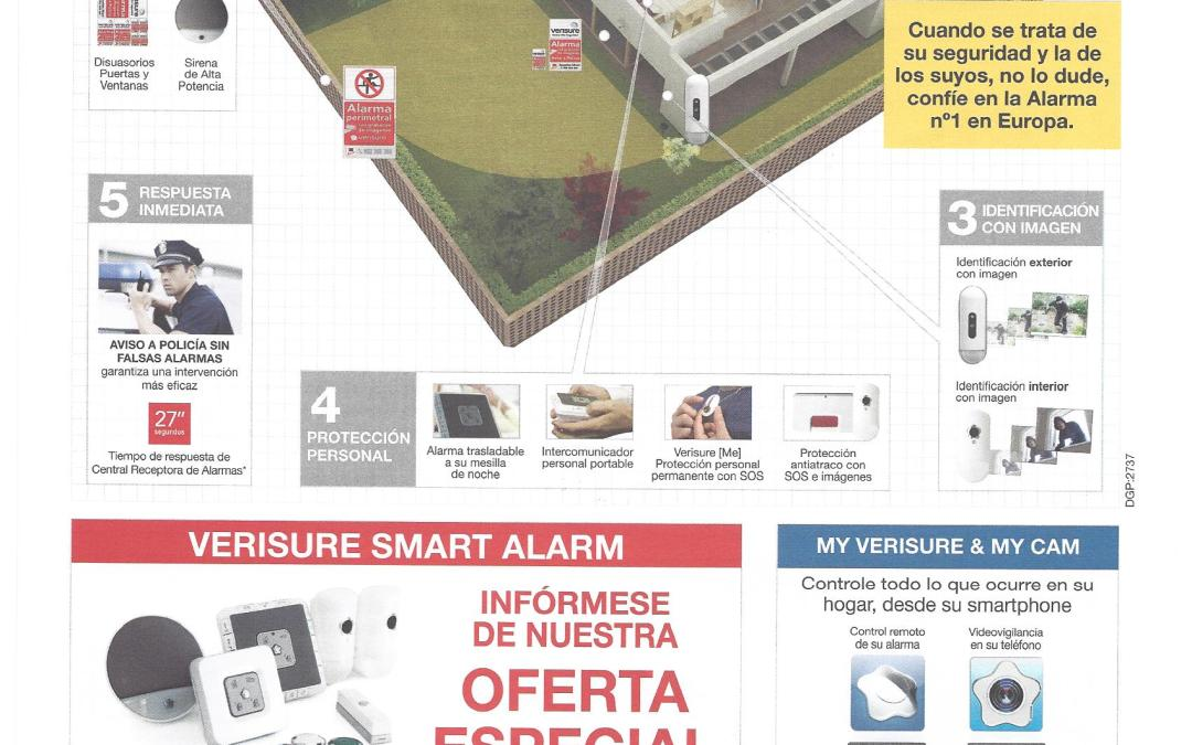 Alarmas Verisure de Securitas Direct