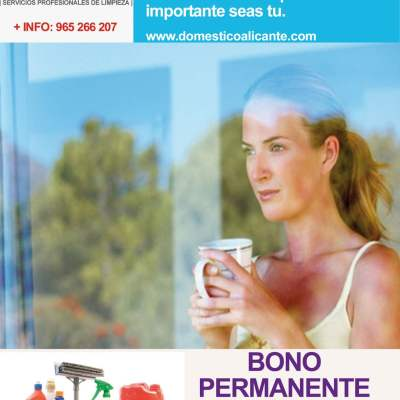 BONOPERMANENTE3-domesticoalicante Limpieza del Hogar - Doméstico Alicante