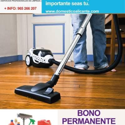 BONOPERMANTE9-domesticoalicante Limpieza del Hogar - Doméstico Alicante
