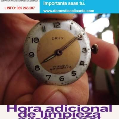 domestico-hora-adicional-impieza Pulido y abrillantado de superficies en Alicante