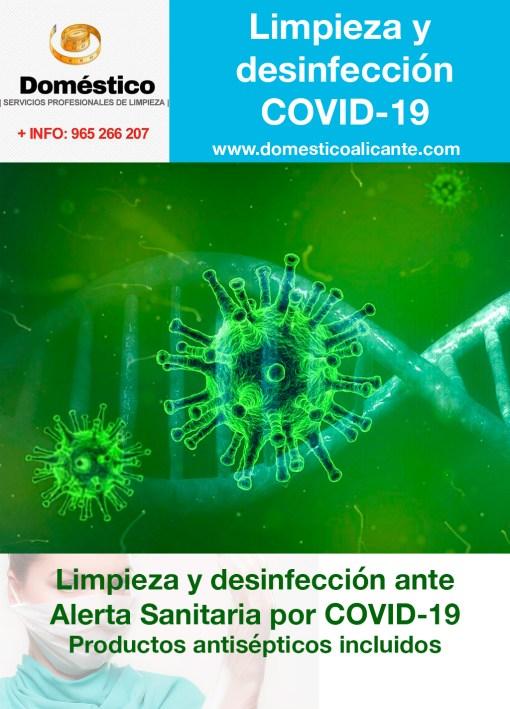 Limpieza y desinfección coronavirus