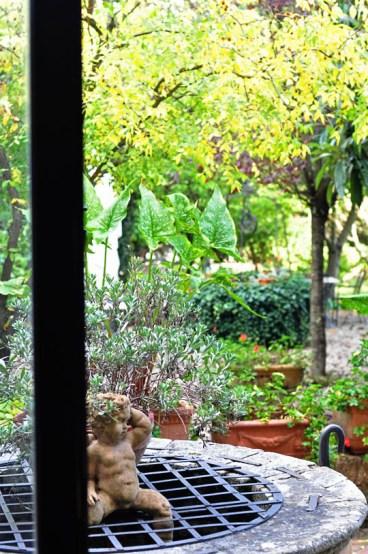 Hidden garden.