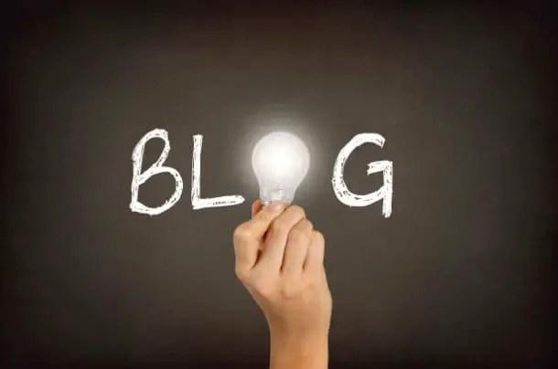 Blog et travail à domicile