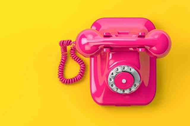 Travail domicile téléphone rose