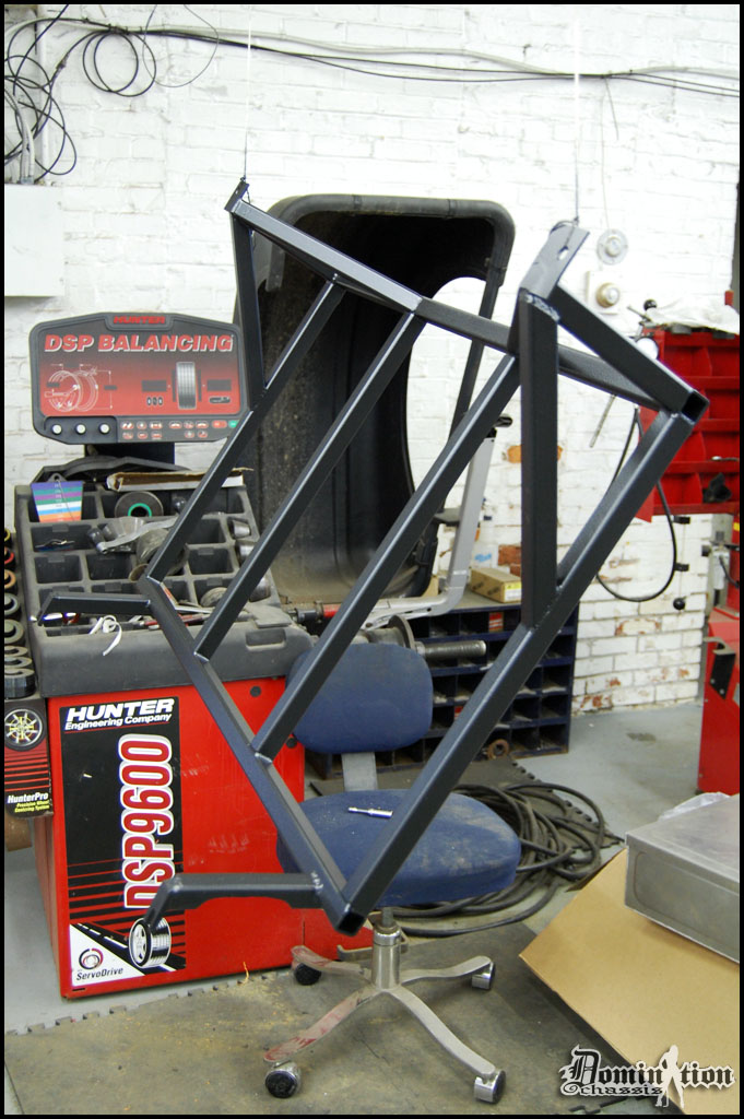 Custom Fabbed Tank Frame for Fuel Cell, Domination Chassis