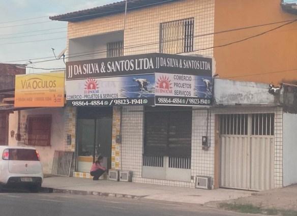 Empresa é sediada na Avenida 13, nº 28, Quadra 126, Maiobão.