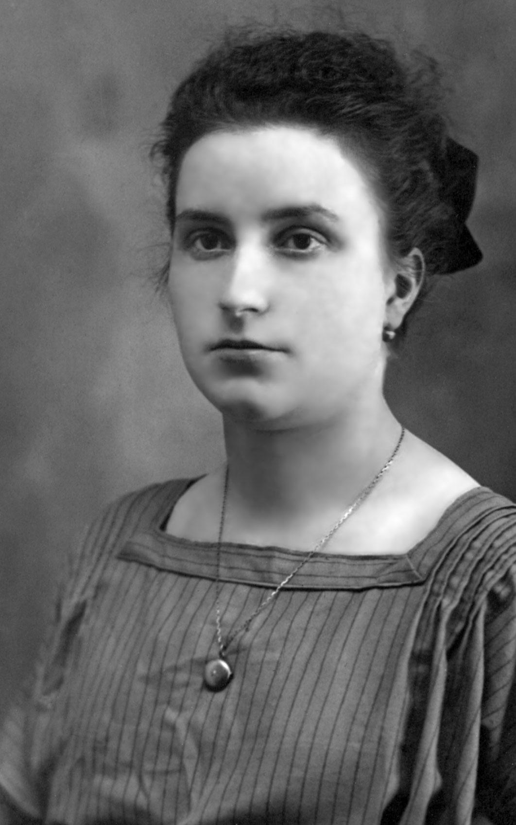 Maria Valtorta à 25 ans en 1922
