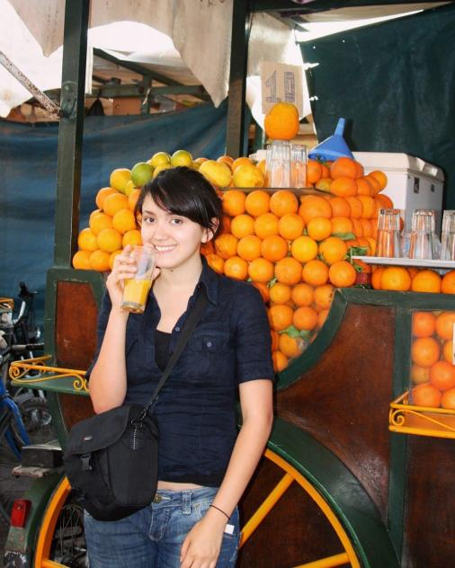 orange juice morocco oranges