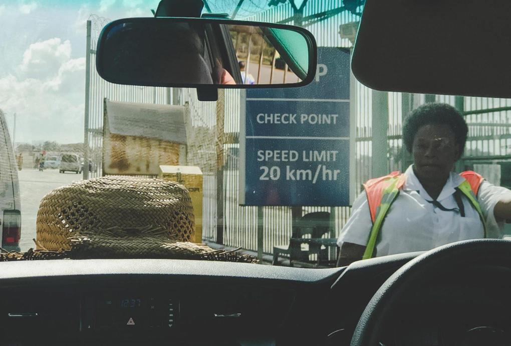 Crossing into Zimbabwe Beitbridge Musina
