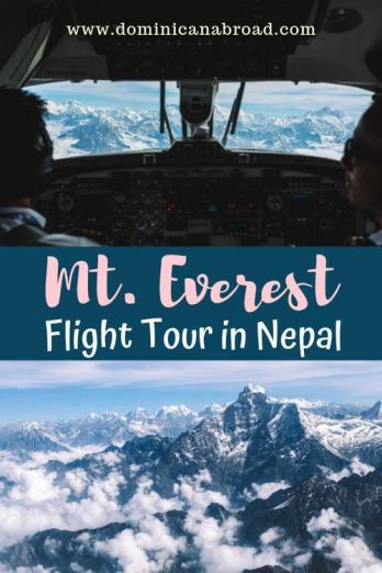 mt everest flight tour