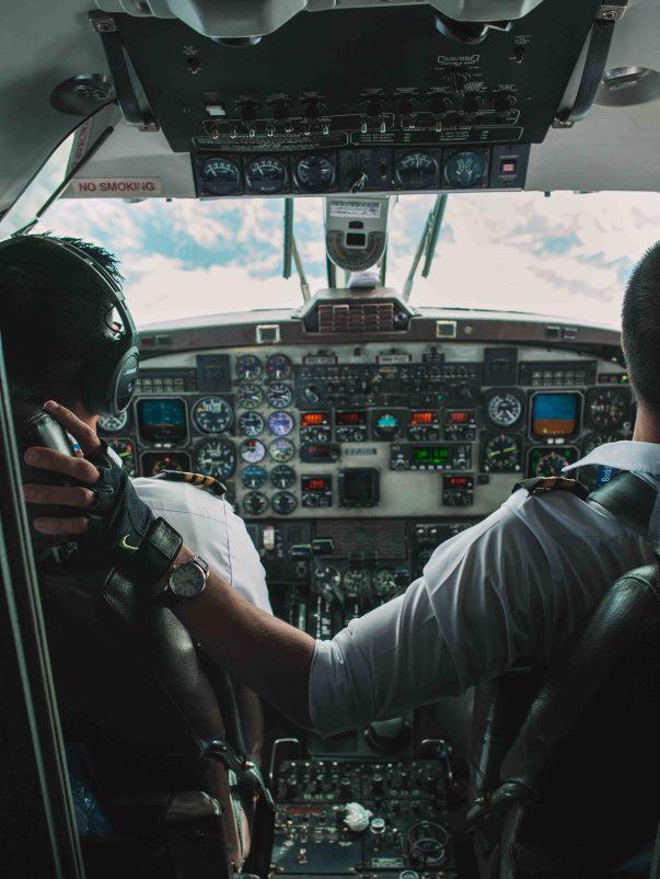 meeting pilots everest flight