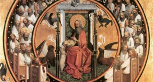 Unknown German master, Vision of St. John the Evangelist