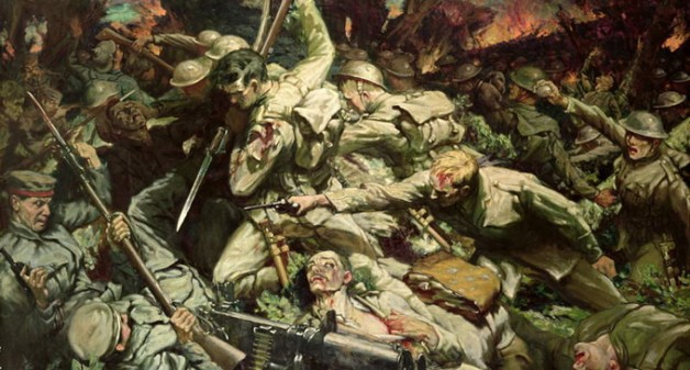 Christopher Williams, The Welsh at Mametz Wood