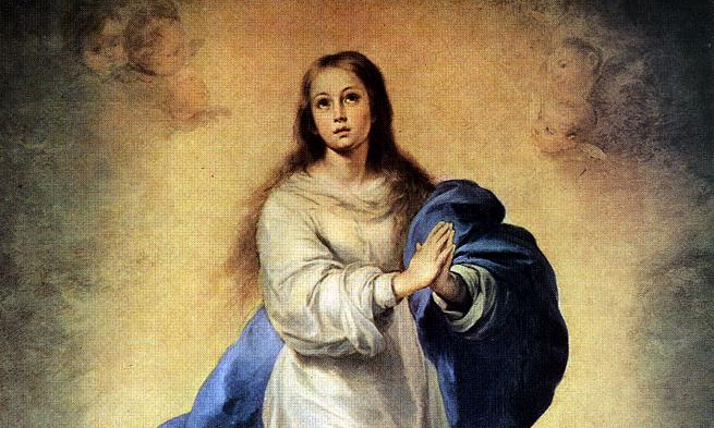 Image: Bartolomé Esteban Murillo, Immaculate of El Escorial