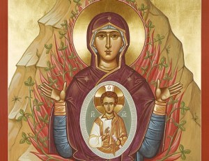 Mary as the Burning Bush