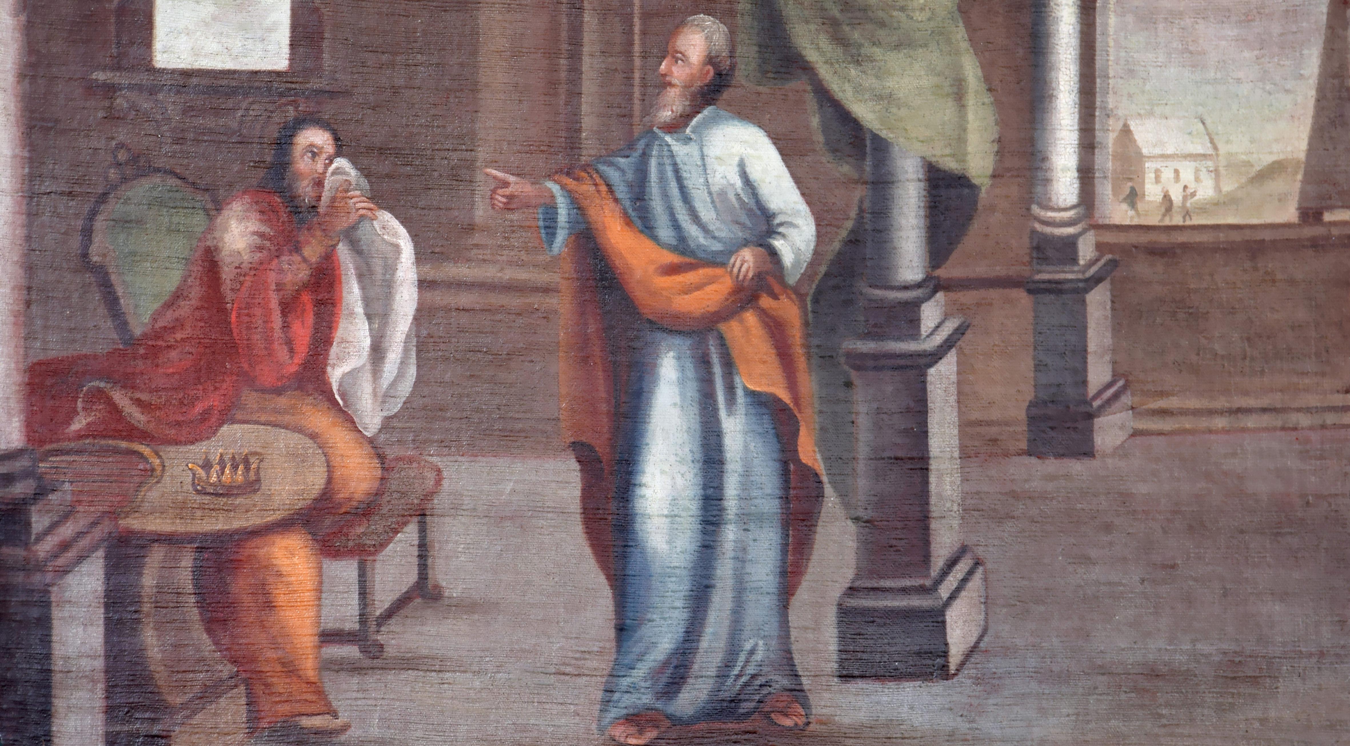 Nathan rebukes David.
