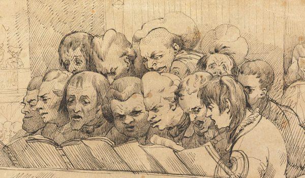 John Hamilton Mortimer, Choir and Orchestra (A Choral Band)