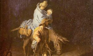 Rembrandt van Rijn, Flight into Egypt