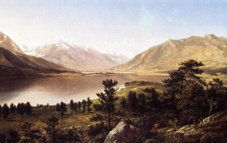 Image: David Johnson, Upper Twin Lakes in the Colorado Rockies.