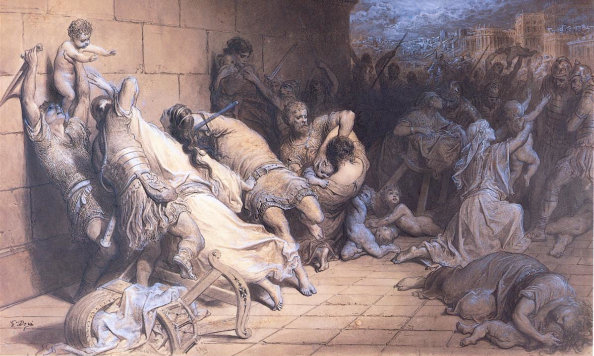 Gustave Dore, The Martyrdom of the Holy Innocents.